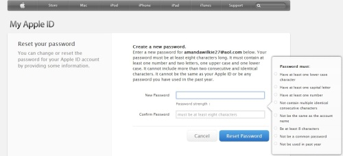 Apple's new password setting requirements are ridiculous!